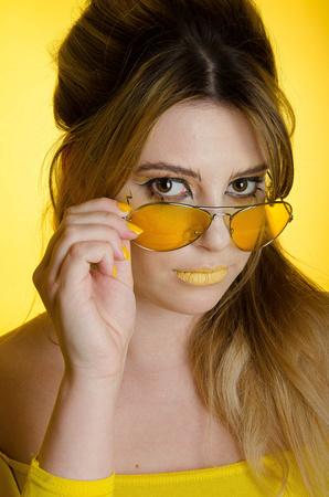 Studio Shoot Yellow Olivia-029